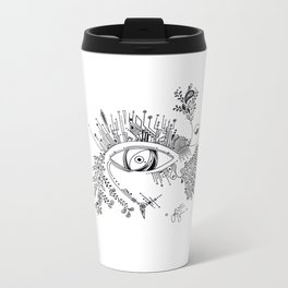 The eye watching you Metal Travel Mug