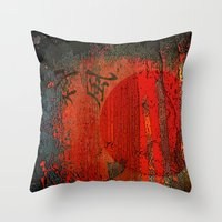 japan Throw Pillows featuring Japan by Fernando Vieira