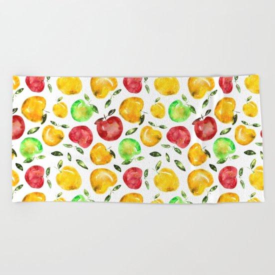 Forbidden fruit Beach Towel