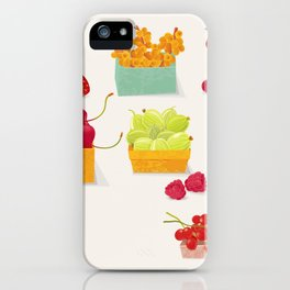 Fruits Market iPhone Case