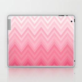 Fading Pink Chevron Laptop & iPad Skin