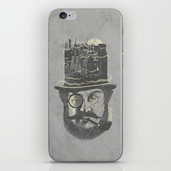 Old man hatten iPhone & iPod Skin