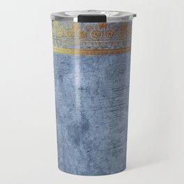 Blue Egypt Travel Mug