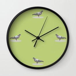 pigeon  polygon style Wall Clock