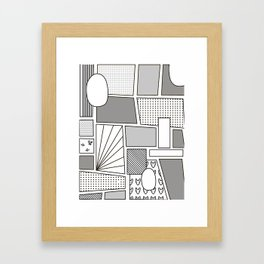 Comix Framed Art Print