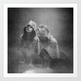 Holga Double Exposure - Oh Thumbelina Art Print