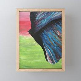 Peace Within Bird Art Framed Mini Art Print