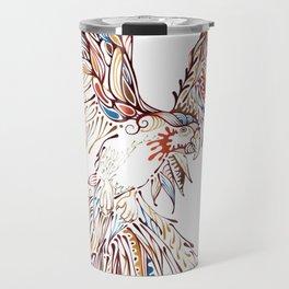 Tribal Macaw Travel Mug