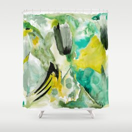Mossy North Side Shower Curtain
