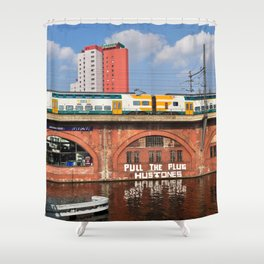 Old storehouse of Berlin Shower Curtain