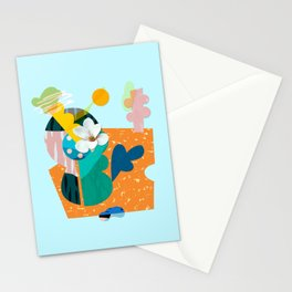 A flower in Antibes Stationery Cards