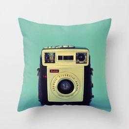Starmatic Camera Throw Pillow