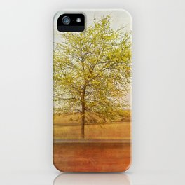 Lonely tree.I iPhone Case