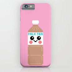 Happy Pixel Milk Tea Slim Case iPhone 6s
