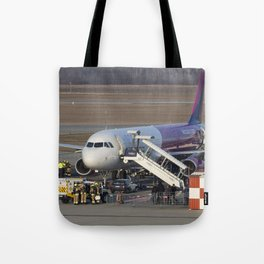 Wizz Air Jet And Fire Brigade Tote Bag
