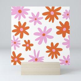 Bright Floral Mini Art Print