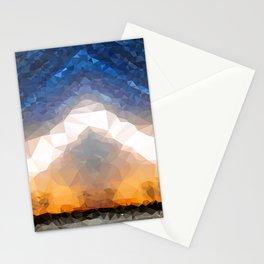 Crystal Moonrise Stationery Cards