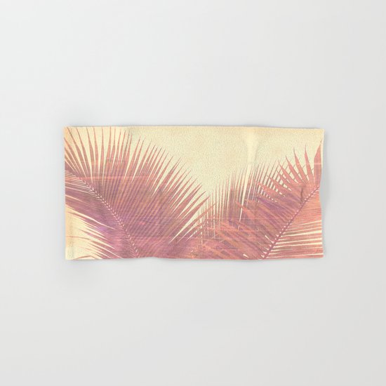 Vintage Palm Hand & Bath Towel
