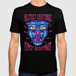 Respect Existence or Expect Resistance - Black History Month BHM T-shirt