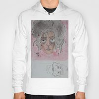 edward scissorhands Hoodies featuring edward scissorhands by Chad spann