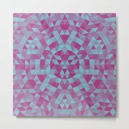 Triangle mandala 2 Metal Print