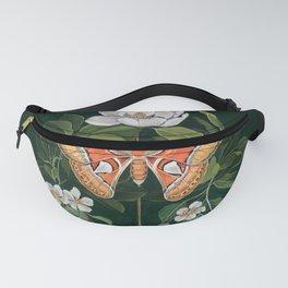 Atlas Moth Magnolia Fanny Pack