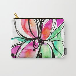 Ecstasy Bloom No. 1 by Kathy Morton Stanion Carry-All Pouch