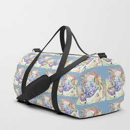 RB.Cat Clown & Friend Duffle Bag