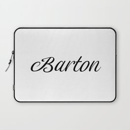 Name Barton Laptop Sleeve