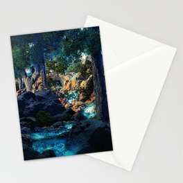 Doctrine of Divine Light by Maxfield Parrish Stationery Cards