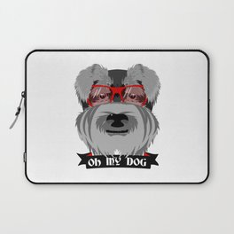 Oh My Dog Laptop Sleeve