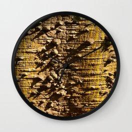 Nature´s Abstract Wall Clock