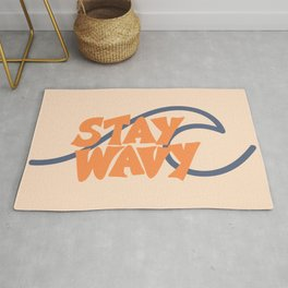 Stay Wavy Surf Type Rug