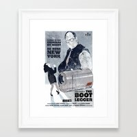seinfeld Framed Art Prints featuring For Seinfeld Fans by Alain Cheung