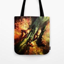 The Sandstorm Saints Tote Bag