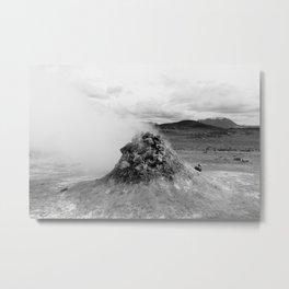 Hverir Geothermal Area Metal Print