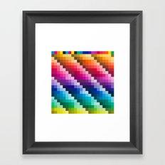 Color Palette Framed Art Print