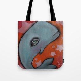 Waylon the Whale Tote Bag