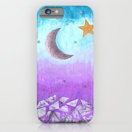 Mister moon iPhone Case