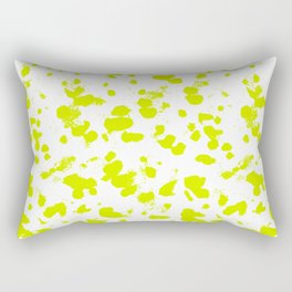 Neon splash Rectangular Pillow