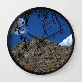 River Bank View Wall Clock