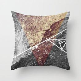 Tri-Mou Throw Pillow