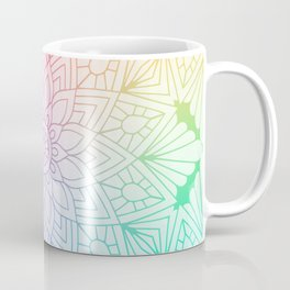 Rainbow Mandala Coffee Mug