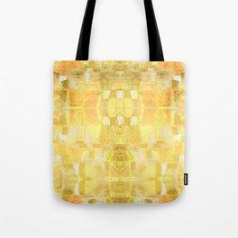 Babalon - Gold Metallic Soft Mid Century Pattern Tote Bag