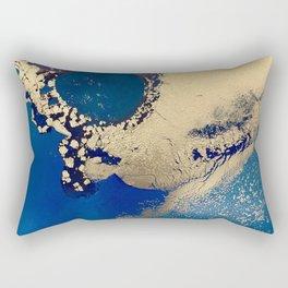 Blue Lagoon Rectangular Pillow