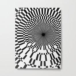 Lucid Tunnel Metal Print