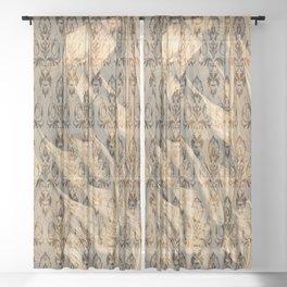 Zhao Gongming Sheer Curtain