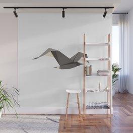 Origami Seagull Wall Mural