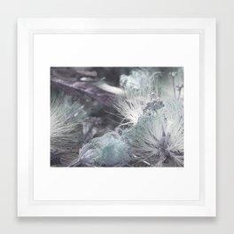 Yielding to Winter's breath Framed Art Print
