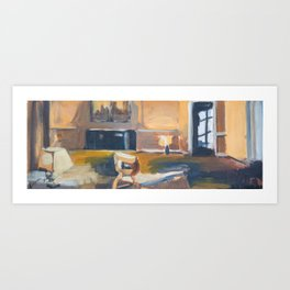 Cinemascope Art Print